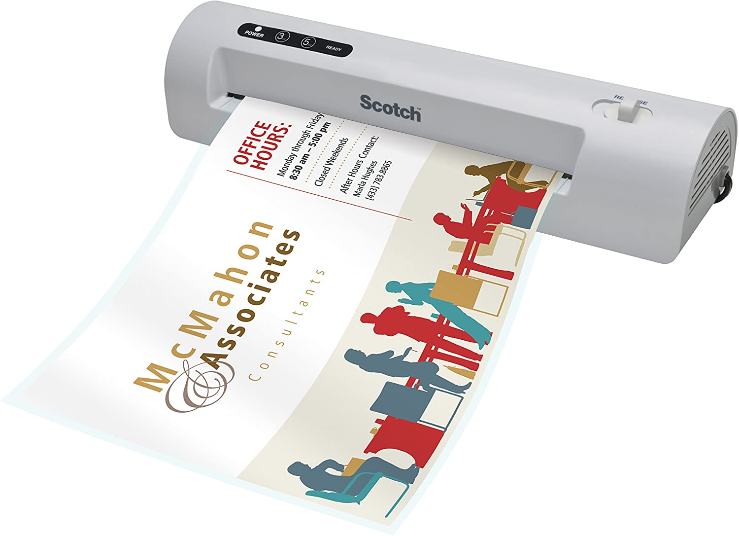 Scotch Thermal Laminator, TL901C-T