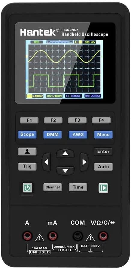 Hantek 2D72 3in1 Digital Oscilloscope Waveform Generator Multimeter