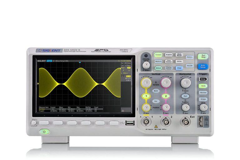 SDS1202X-E Series Digital Automotive Oscilloscope